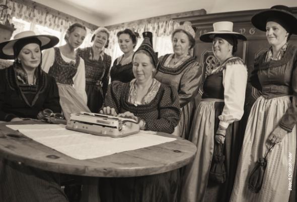 Starke Frauen der Öblarner Geschichte